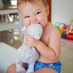 CLOTH DIAPERING WITH CHARLIE BANANA