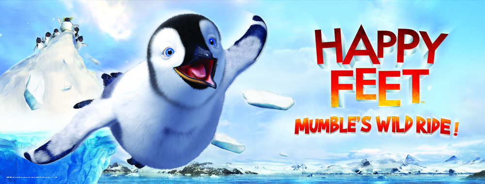 Landscape Banner_Happy Feet Mumble's Wild Ride_Sentosa 4D AdventureLand