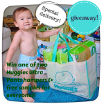 HUGGIES NEW ULTRA PANTS – win them or get free samples