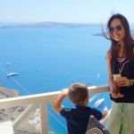 GREECE: exploring Fira in Santorini