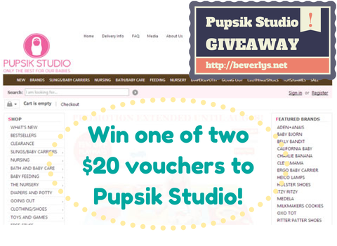 Win one of two $20 vouchers to Pupsik Studio - Beverly's Net