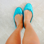 REPETTO BALLET FLATS IN 'POOL'