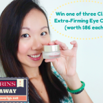 GIVEAWAY: Win one of three of Clarins' latest Extra-Firming Eye Cream (worth $86 each)