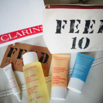 CLARINS FEED 10 – free Gift Set worth $75 with purchase