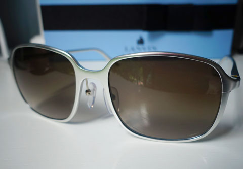 Safilo x Marc Newson sunglasses