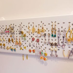 IKEA HACK: make your own earrings holder