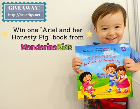 "Giveaway & 25% storewide discount for ""Ariel and Her Honesty Pig"" by MandarinaKids"