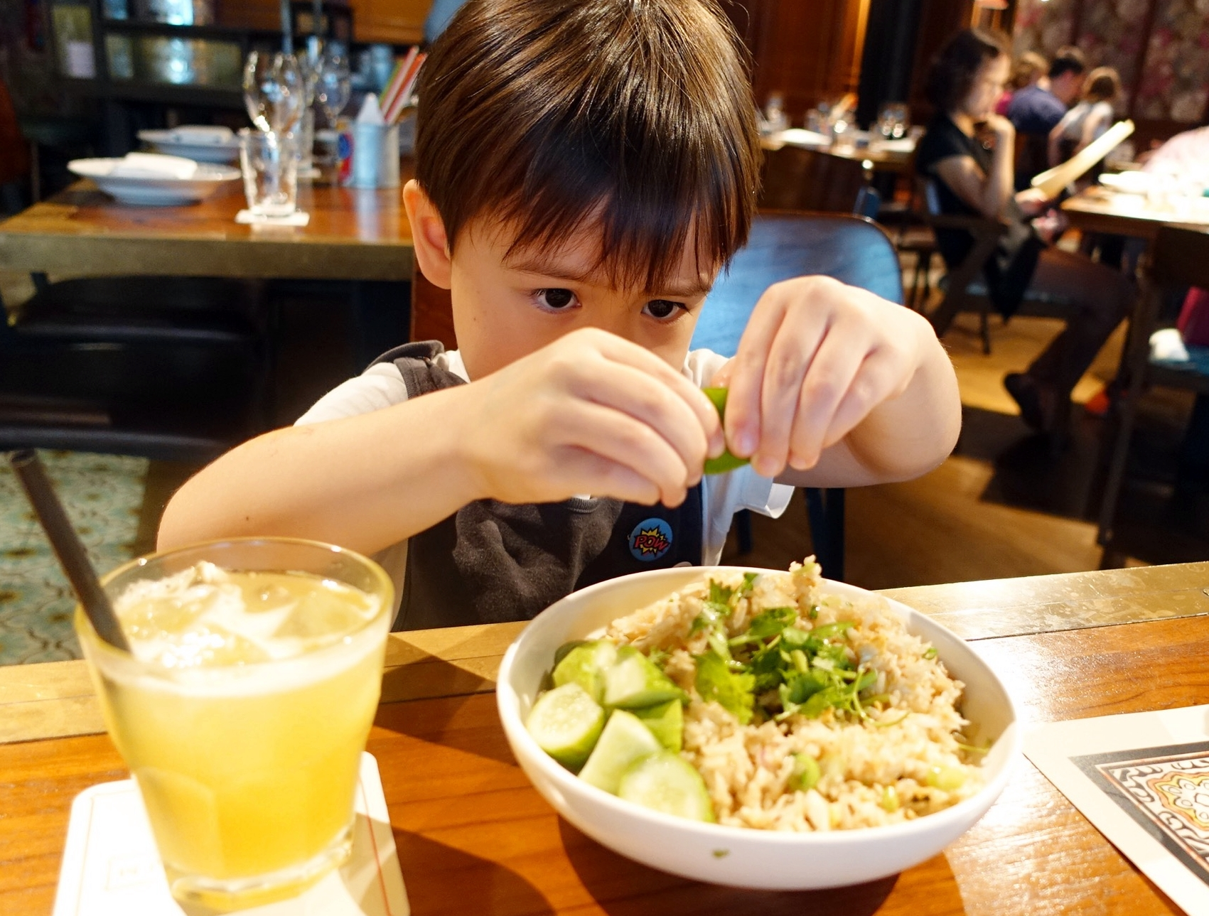 Long Chim at Marina Bay Sands - family and kids brunch