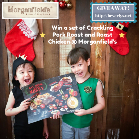 Christmas feast at Morganfield's